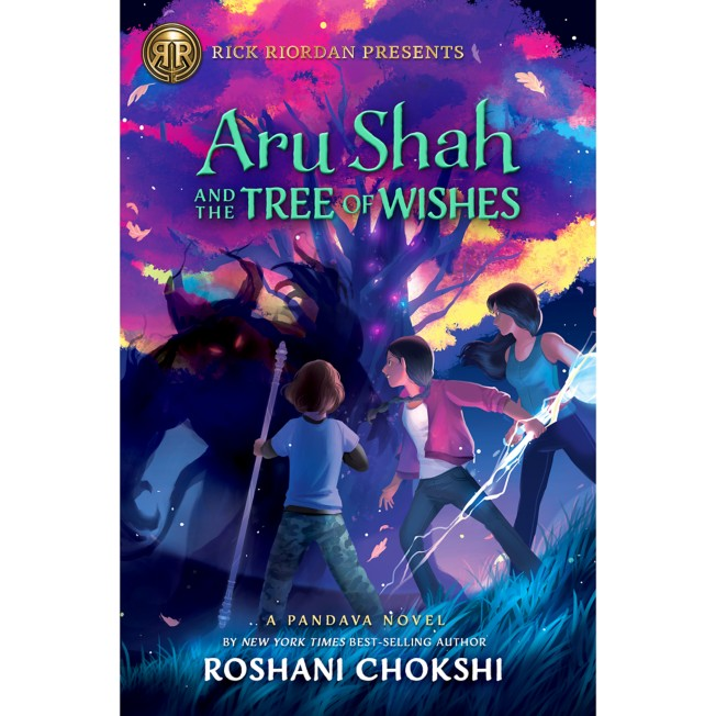 Aru Shah and the Tree of Wishes Book