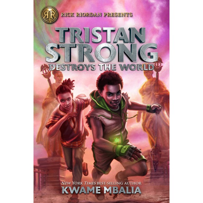 Tristan Strong Destroys the World Book