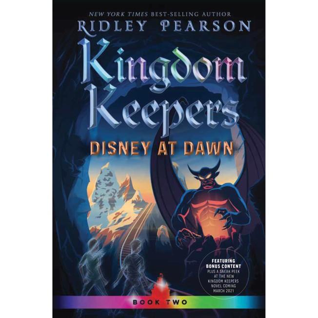 Kingdom Keepers 2: Disney at Dawn Book
