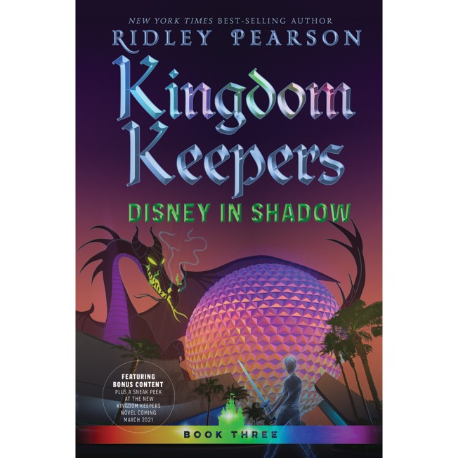 Kingdom Keepers 3: Disney in Shadow Book