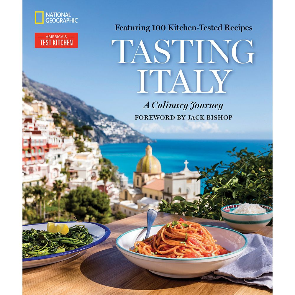 Tasting Italy:A Culinary Journey Cookbook – National Geographic