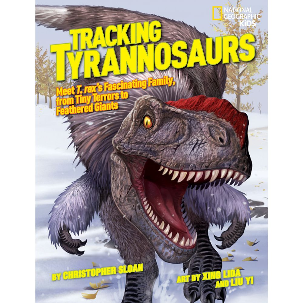 Tracking Tyrannosaurs Book – National Geographic