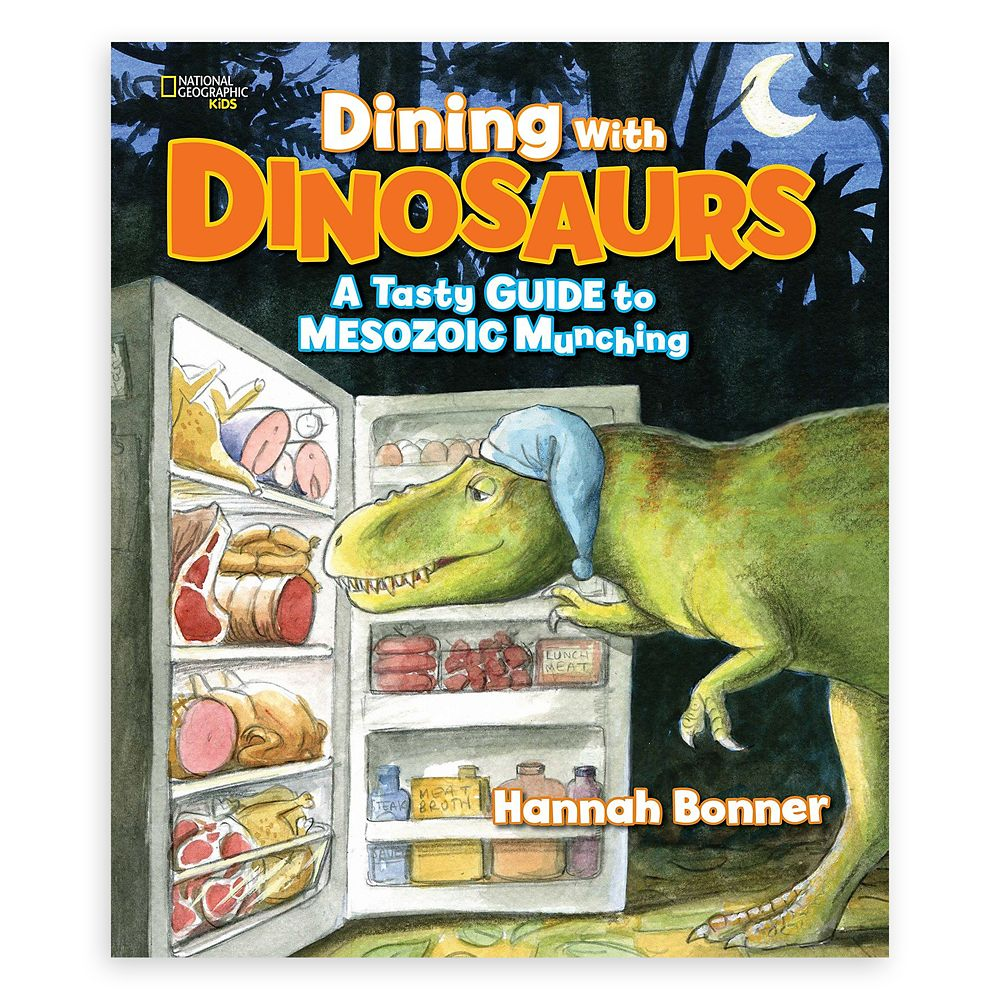 Dining with Dinosaurs: A Tasty Guide to Mesozoic Munching Book