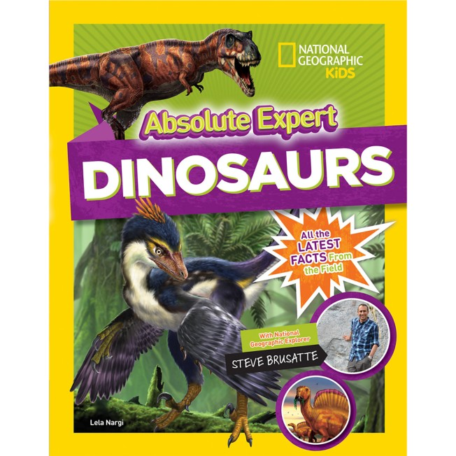 Absolute Expert: Dinosaurs Book – National Geographic