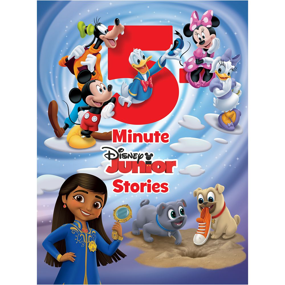 Disney Junior 5-Minute Stories Book