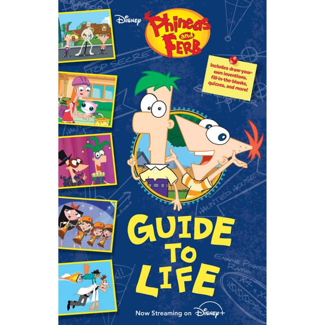 Phineas and Ferb's Guide to Life Book