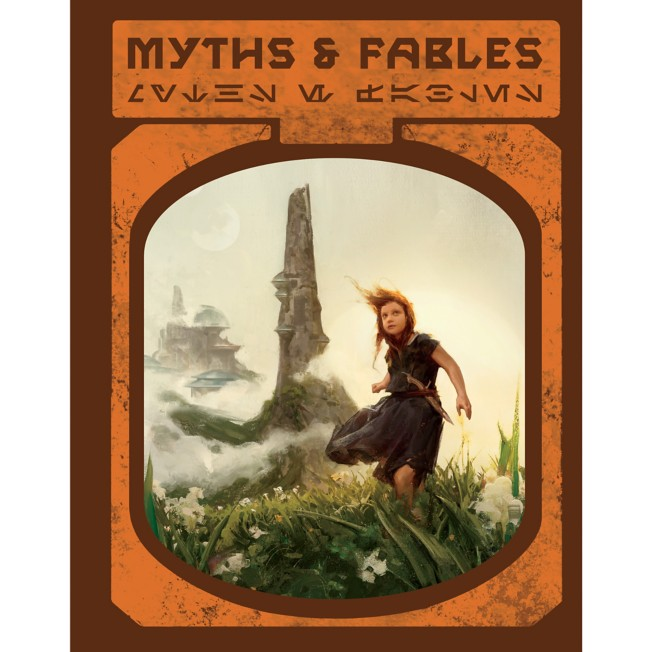 Star Wars: Galaxy's Edge Myths & Fables Book