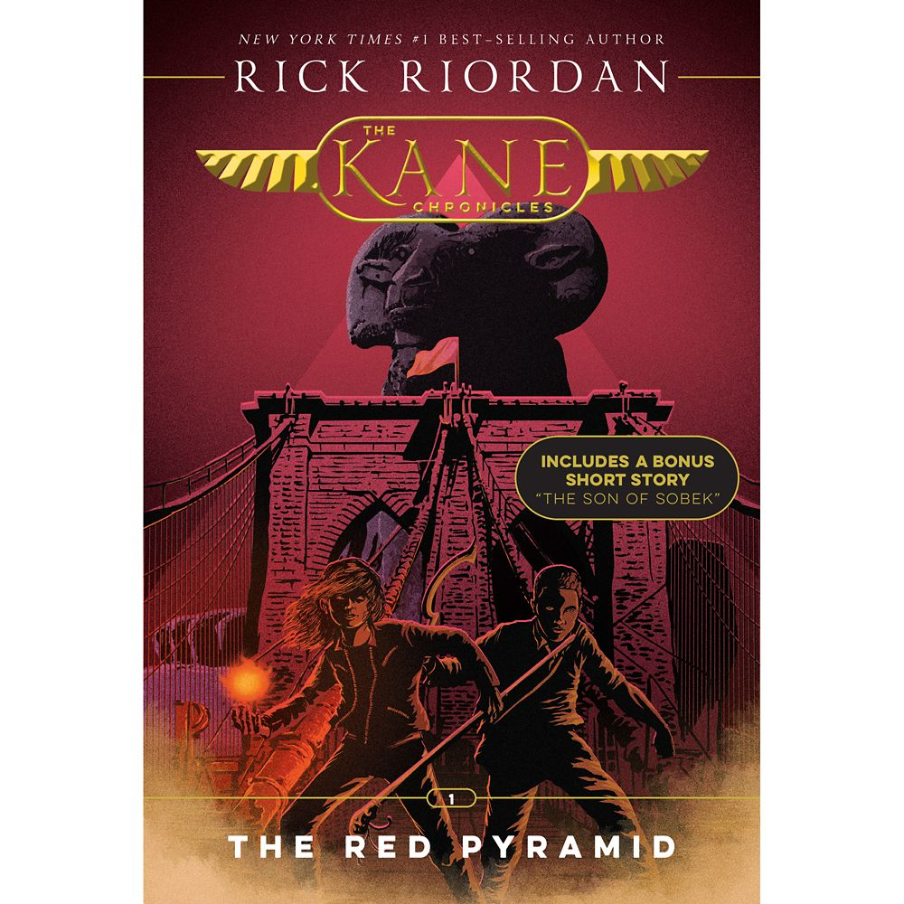 The Kane Chronicles Book One: The Red Pyramid