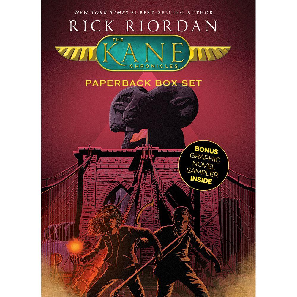 The Kane Chronicles: Paperback Box Set