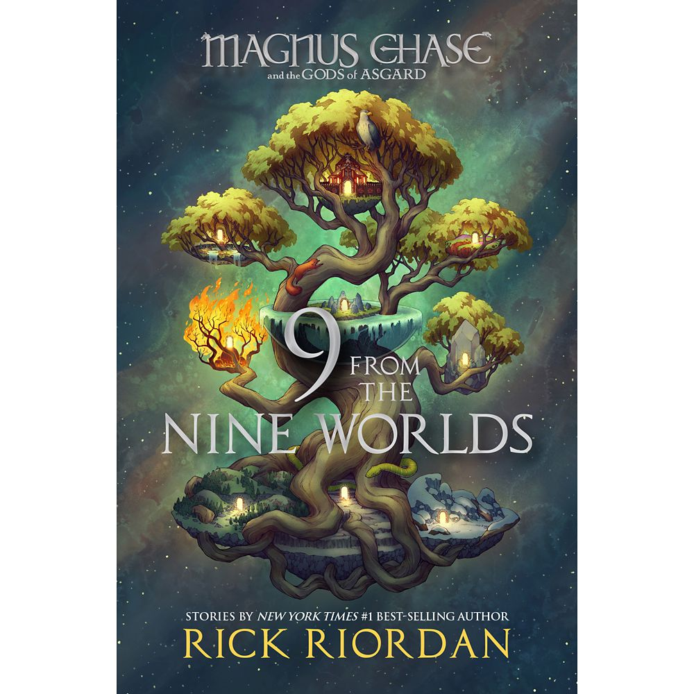 9 from the Nine Worlds (Magnus Chase and the Gods of Asgard) Book