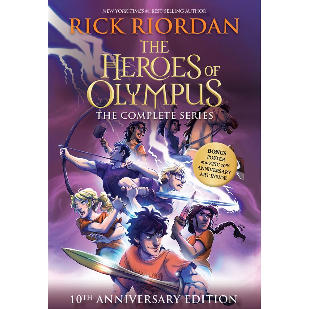 The Heroes of Olympus The Complete Series 10th Anniversary Edition