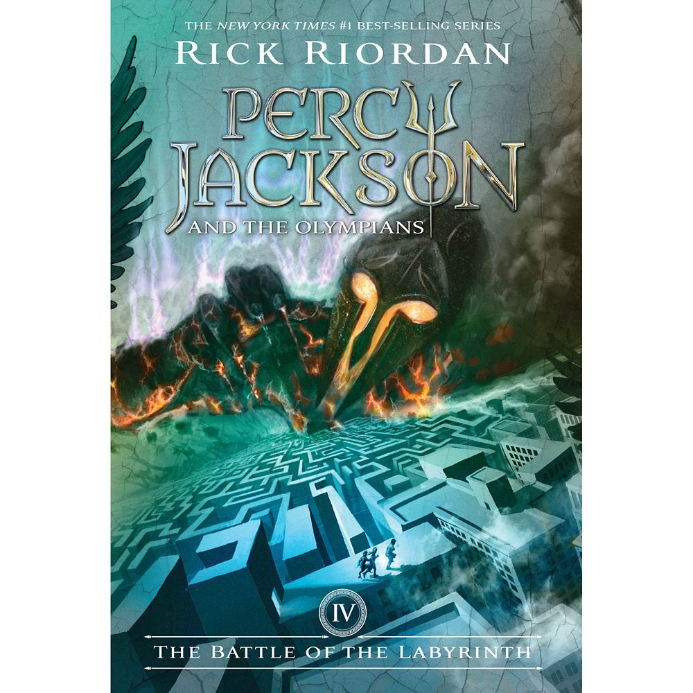Percy Jackson & the Olympians Book Four: The Battle of the Labyrinth