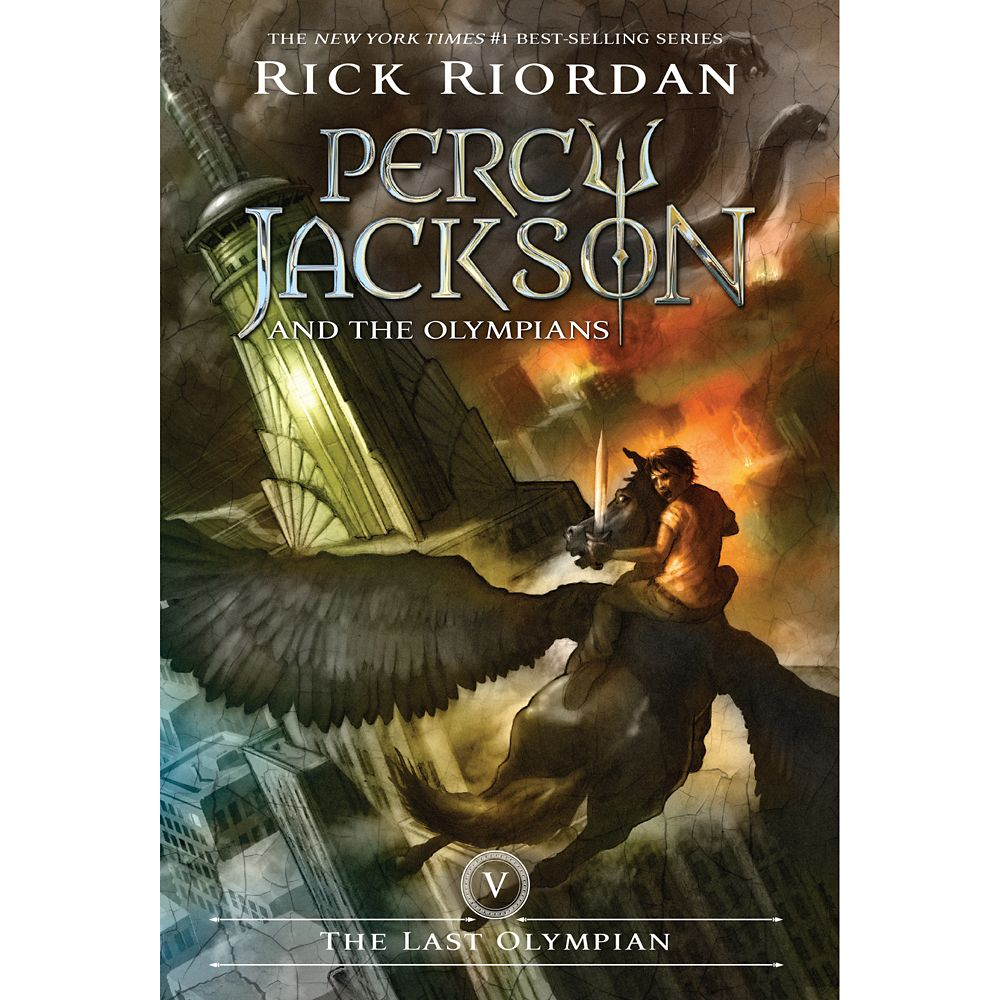 Percy Jackson & the Olympians Book Five: The Last Olympian