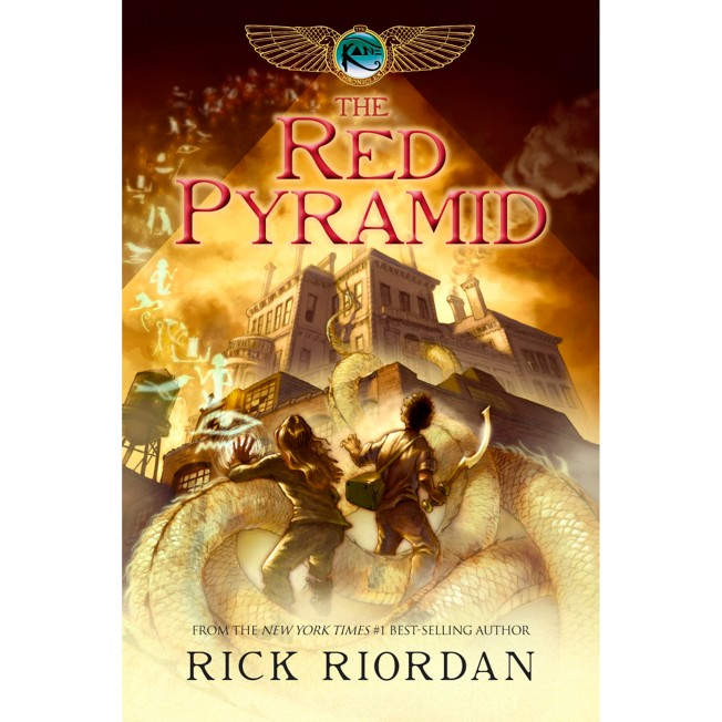 The Kane Chronicles Book One: The Red Pyramid – Hardcover