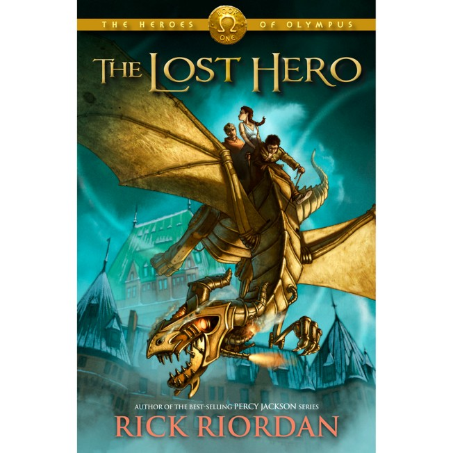 The Heroes of Olympus Book One: The Lost Hero – Hardcover
