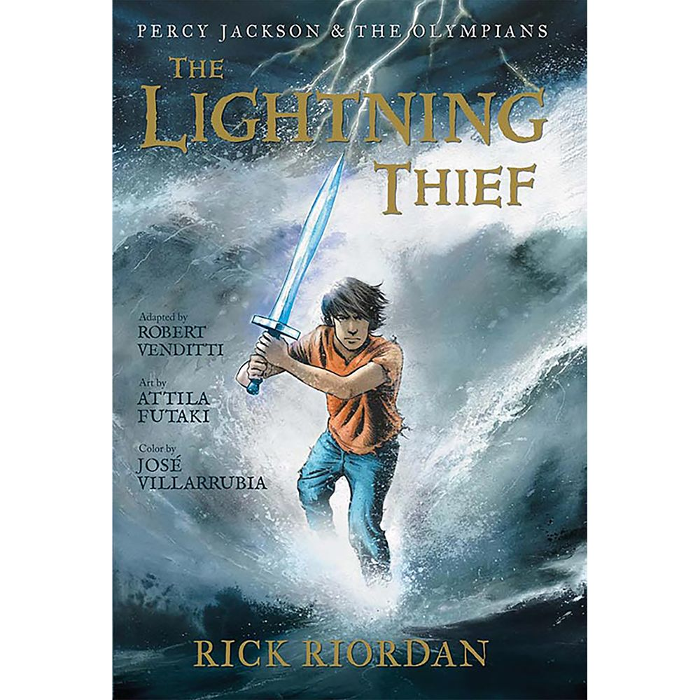 Percy Jackson & the Olympians Book One: The Lightning Thief – The Graphic Novel