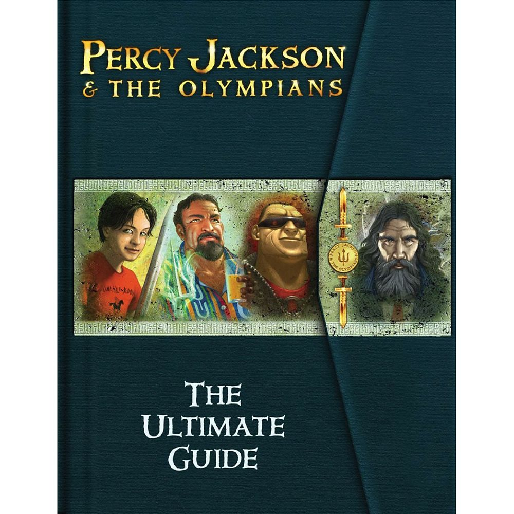 Percy Jackson & the Olympians The Ultimate Guide Book