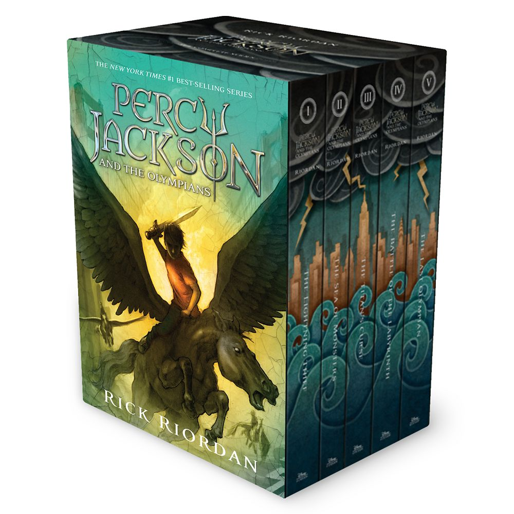 Percy Jackson & the Olympians Hardcover Box Set