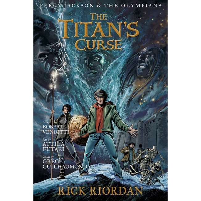 Percy Jackson & the Olympians Book Three: The Titan's Curse – The Graphic Novel