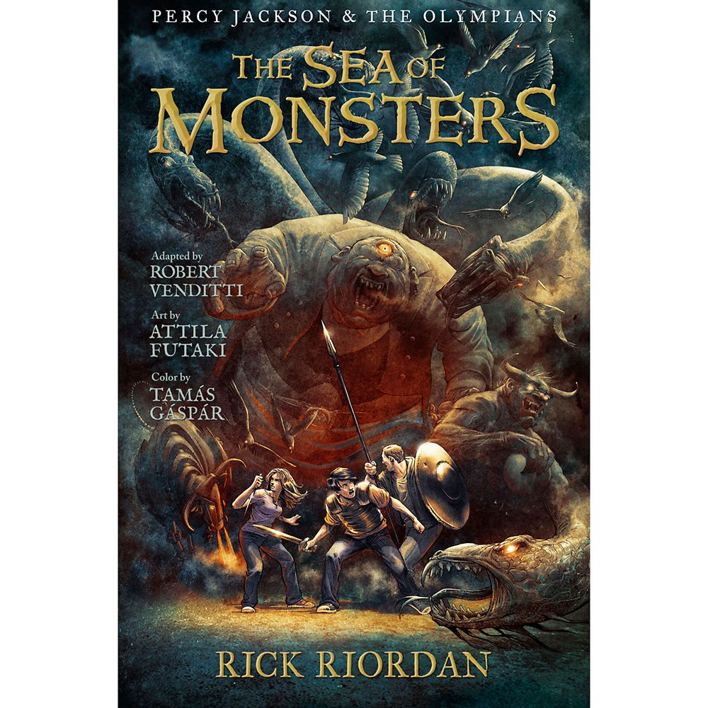 Percy Jackson & the Olympians Book Two: The Sea of Monsters – The Graphic Novel