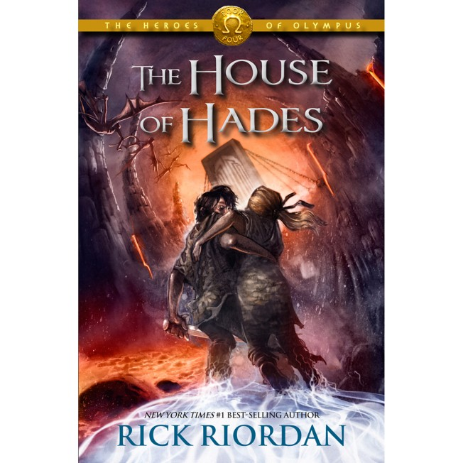 The Heroes of Olympus Book Four: The House of Hades – Hardcover