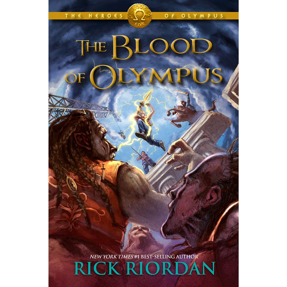 The Heroes of Olympus Book Five: The Blood of Olympus – Hardcover