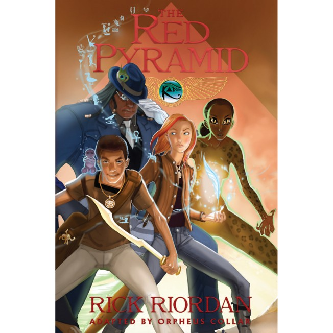 The Kane Chronicles Book One: The Red Pyramid – The Graphic Novel