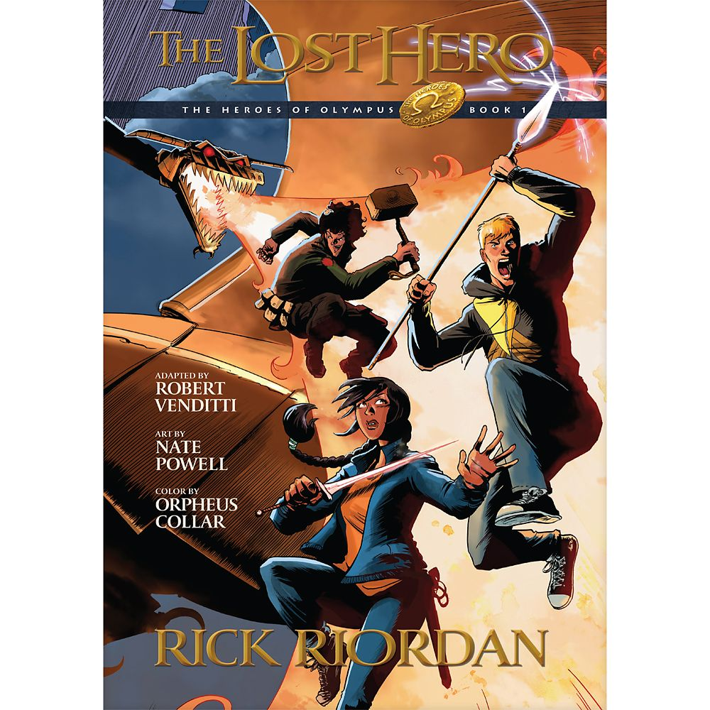 Heroes of Olympus Book One: The Lost Hero Graphic Novel