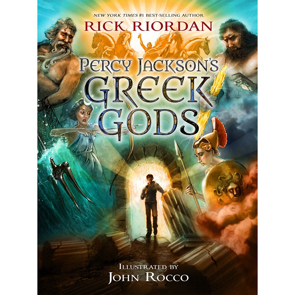 Percy Jackson's Greek Gods Book