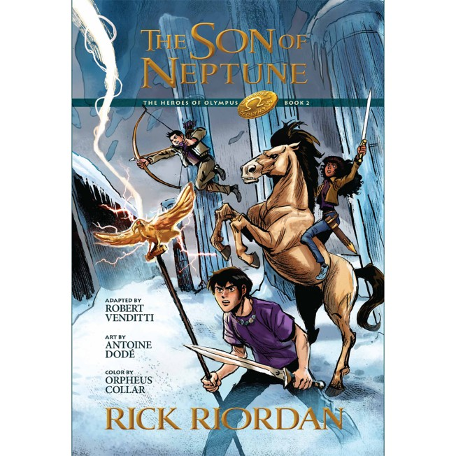 The Heroes of Olympus Book Two: The Son of Neptune Graphic Novel