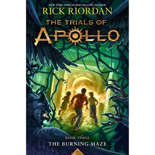 Trials of Apollo, Book Three: The Burning Maze