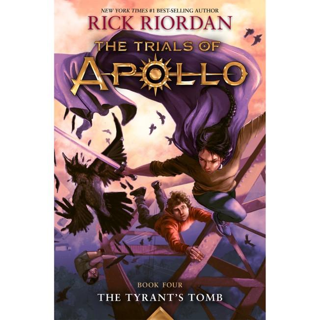 Trials of Apollo, Book Four: The Tyrant's Tomb
