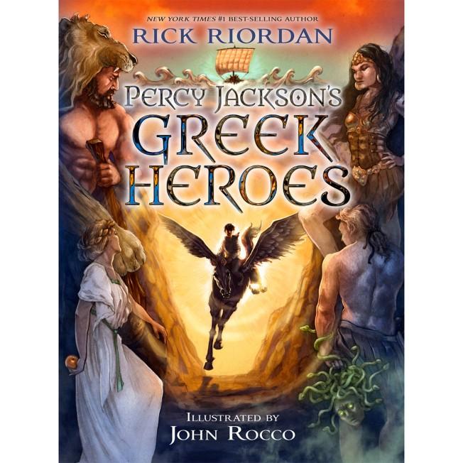 Percy Jackson's Greek Heroes Book