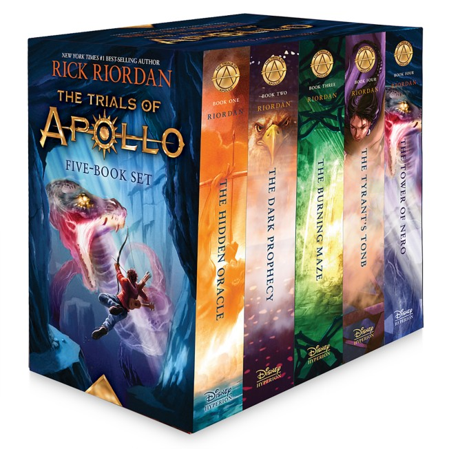 The Trials of Apollo Five-Book Hardcover Boxed Set