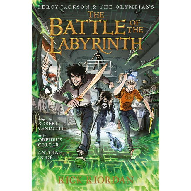 Percy Jackson and the Olympians, Book Four: The Battle of the Labyrinth – The Graphic Novel