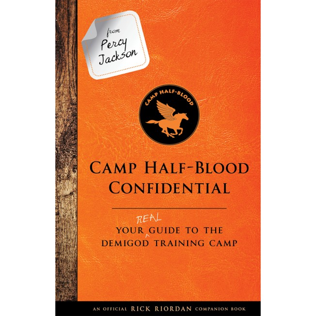 From Percy Jackson: Camp Half-Blood Confidential – Your Real Guide to the Demigod Training Camp