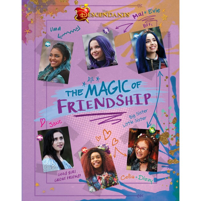 Descendants: The Magic of Friendship Book