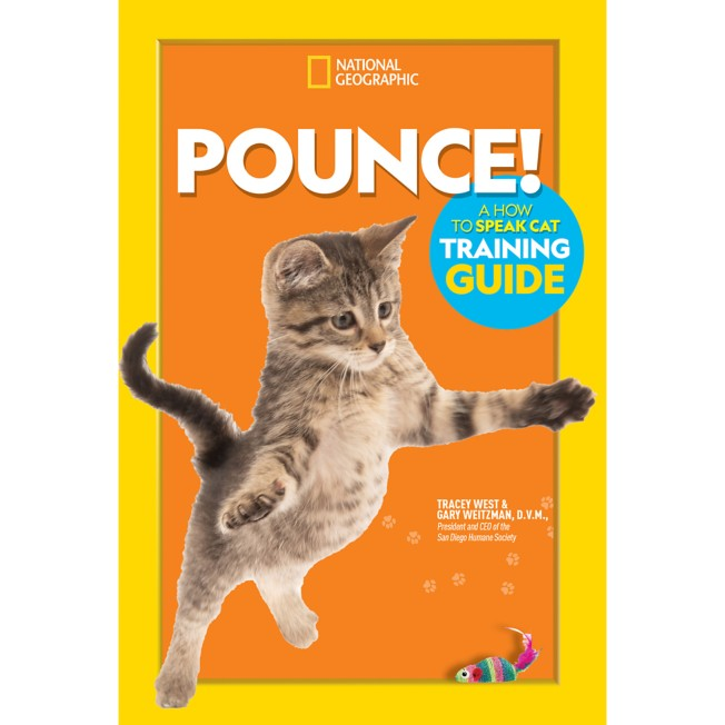 Pounce! A How to Speak Cat Training Guide Book – National Geographic