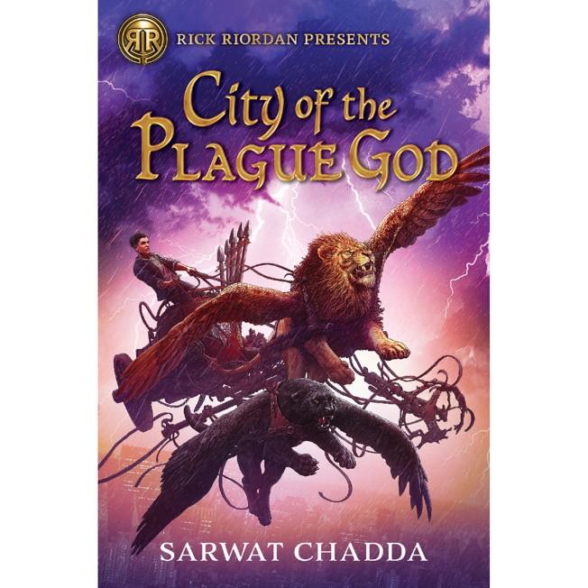 City of the Plague God Book