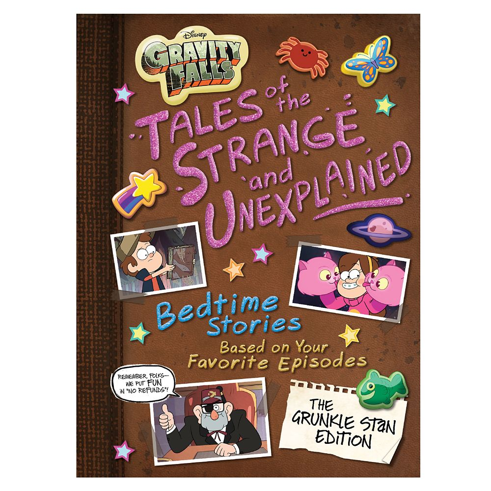Gravity Falls: Tales of the Strange and Unexplained Book