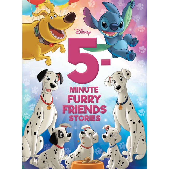 5-Minute Disney Furry Friends Stories Book