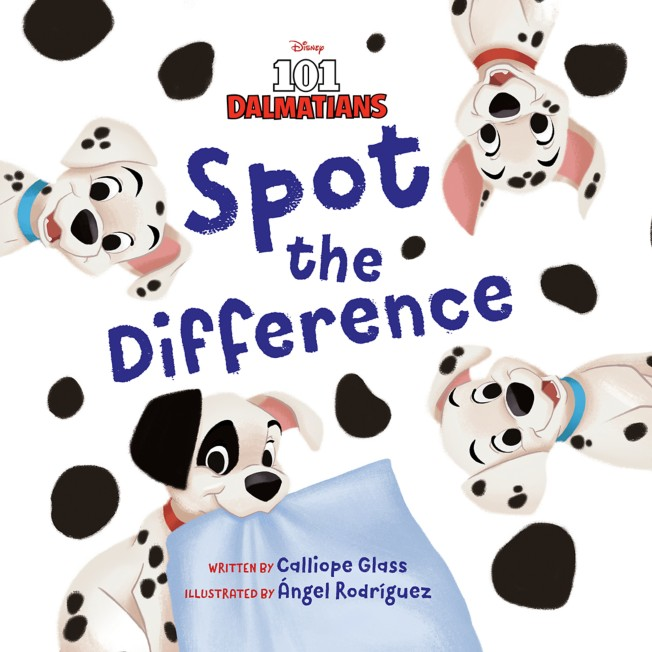 101 Dalmatians: Spot the Difference Book