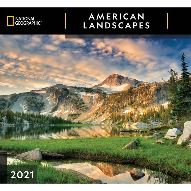 National Geographic 2021 American Landscapes Wall Calendar