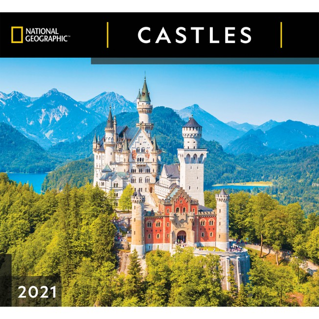 National Geographic 2021 Castles Wall Calendar