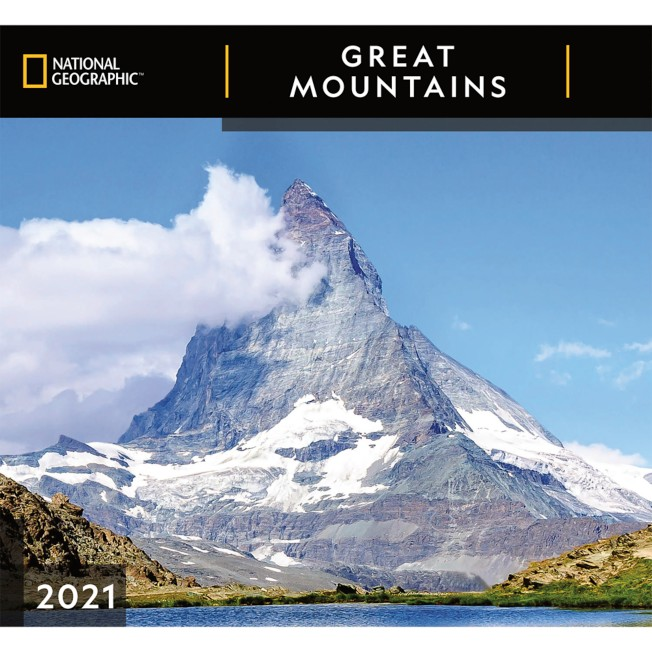 National Geographic 2021 Great Mountains Wall Calendar