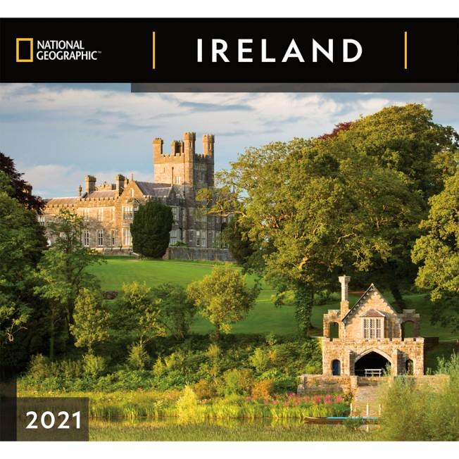 National Geographic 2021 Ireland Wall Calendar