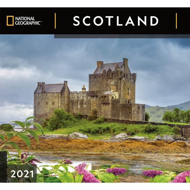 National Geographic 2021 Scotland Wall Calendar