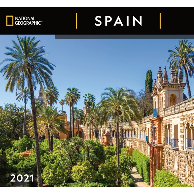 National Geographic 2021 Spain Wall Calendar