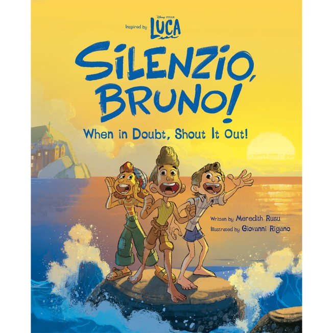 Luca: Silenzio, Bruno!: When in Doubt, Shout It Out! Book
