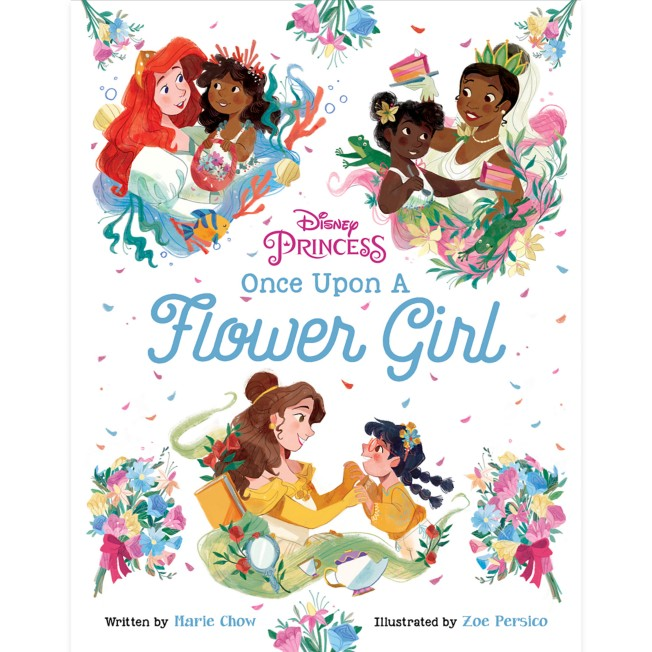 Disney Princess: Once Upon a Flower Girl Book